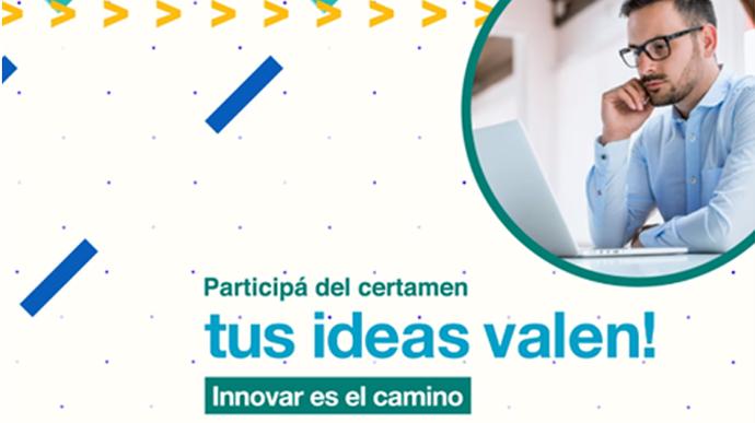 imagen de ¡Participá del nuevo certamen de Tus ideas Valen!